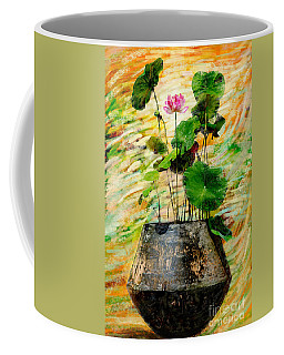 Lotus Tree In Big Jar Coffee Mug