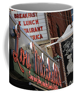 Lou Mitchells Restaurant And Bakery Chicago Coffee Mug