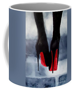 Louboutin At Midnight Coffee Mug