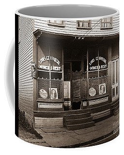 Louis Czarniecki Miners Rest 209 George Ave Parsons Pennsylvania Coffee Mug