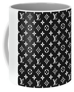 Louis Vuitton Pattern - Lv Pattern 06 - Fashion And Lifestyle Coffee Mug