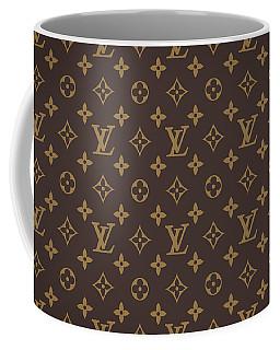 Louis Vuitton Texture Coffee Mug