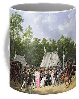 Louis Xviii Greeting The Princess Of Sicily Coffee Mug