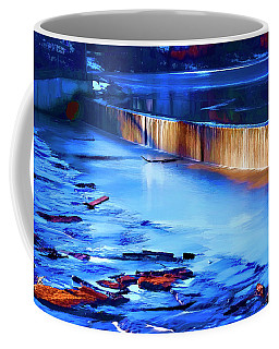 Louisa Lake Dam Coffee Mug