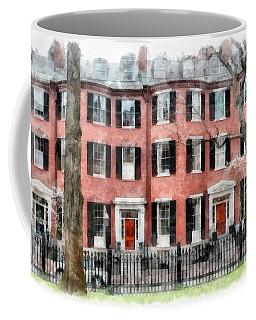 Louisburg Square Beacon Hill Boston Coffee Mug