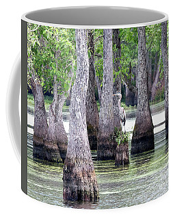 Louisiana Egret Coffee Mug