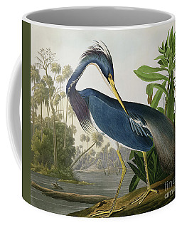 Louisiana Heron Coffee Mug