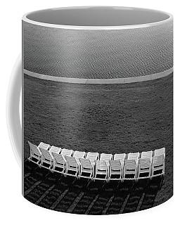 Empty Lounge Chairs Coffee Mug