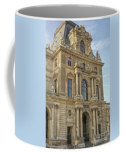 Louvre In Paris Coffee Mug