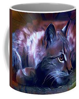 Lovable Feline Coffee Mug