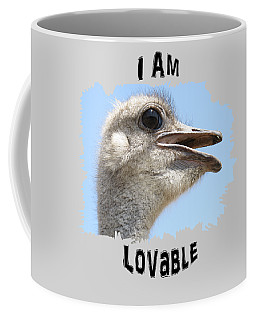Lovable Coffee Mug by Judi Saunders