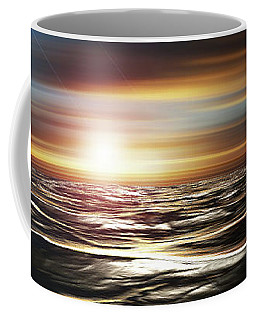 Love Across The Ocean Coffee Mug