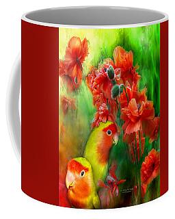 Love Among The Poppies Coffee Mug