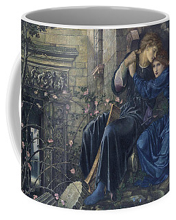 Coffee Mug featuring the painting Love Among The Ruins by Edward Burne-Jones