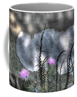 Coffee Mug featuring the photograph Love And Death by Wayne King