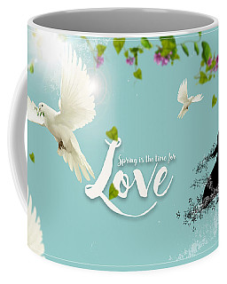 Love And Spring Coffee Mug