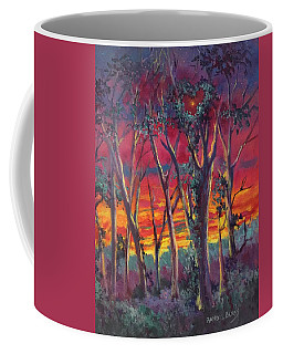 Love And The Evening Star Coffee Mug by Randy Burns