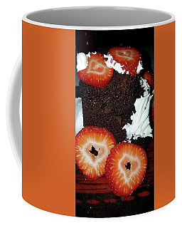 Coffee Mug featuring the photograph Love Berry Much by Kelly Reber