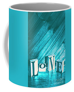 Love Blues Coffee Mug