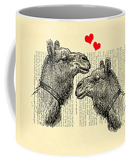 Love Camels Coffee Mug