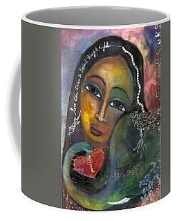 Love Can Draw An Elephant Through A Key Hole Coffee Mug