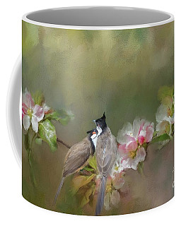 Love Couple Coffee Mug by Eva Lechner