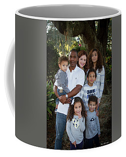 Coffee Mug featuring the photograph Love Demonstrated James Ingram Family Art by Reid Callaway