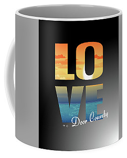 Love Door County Coffee Mug