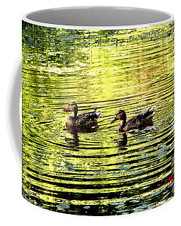 Love Ducks Coffee Mug by Sadie Reneau