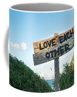 Love Each Other Coffee Mug