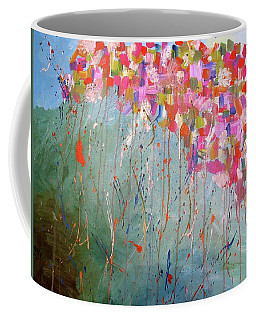 Love Flower Mountain Coffee Mug