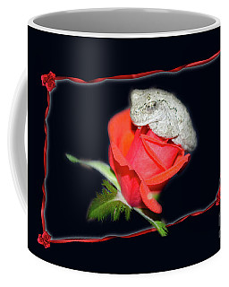 Coffee Mug featuring the digital art Love Found Everywhere by Donna Brown