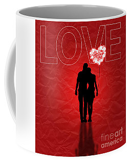Love Greeting Card Coffee Mug