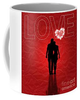 Love Greeting Card Coffee Mug