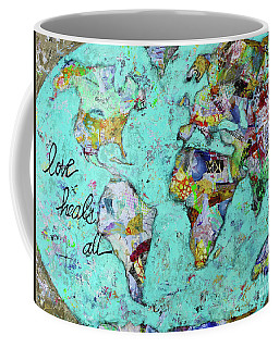 Love Heals All Coffee Mug by Kirsten Reed