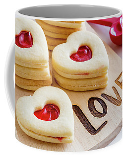 Love Heart Cookies Coffee Mug