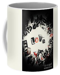 Love In Letters Coffee Mug