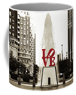 Love In Philadelphia Coffee Mug
