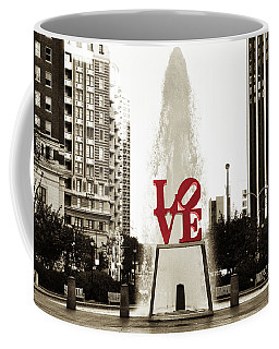 Love In Philadelphia Coffee Mug by Bill Cannon