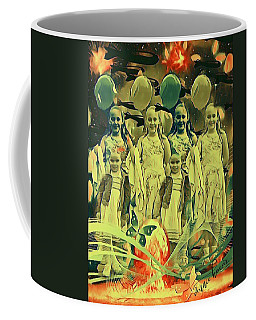 Love In The Age Of War Coffee Mug by Vennie Kocsis