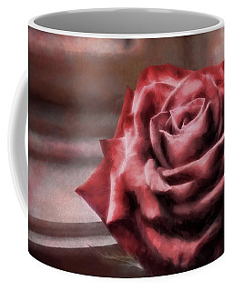 Love Is A Rose Coffee Mug by Jim Hill
