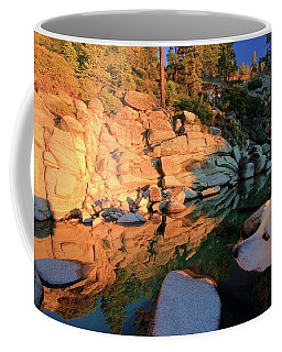 Love Is All Around Coffee Mug by Sean Sarsfield