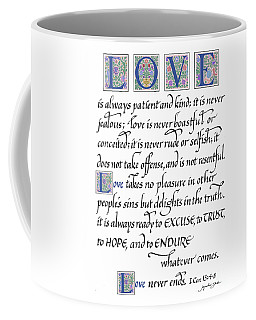 Love Is Always Patient Coffee Mug