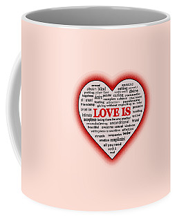 Love Is Coffee Mug by Anastasiya Malakhova