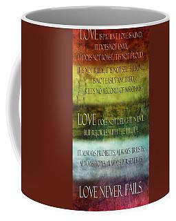 Coffee Mug featuring the digital art Love Is  by Angelina Vick