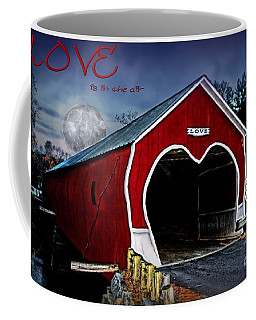 Coffee Mug featuring the photograph Love Is In The Air by DJ Florek