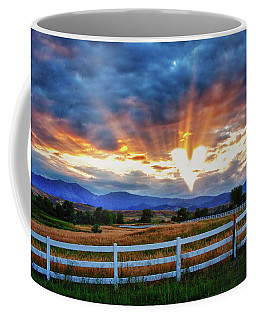 Coffee Mug featuring the photograph Love Is In The Air by James BO Insogna