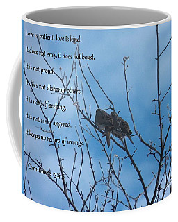 Love Is Patient, Love Is Kind Coffee Mug