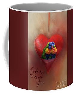 Love Is...being With You Coffee Mug