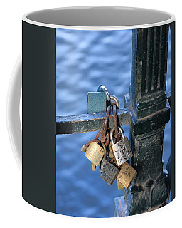 Love Lock Coffee Mug
